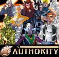 Authority + X-Men = X-Authority by Needham-Comics