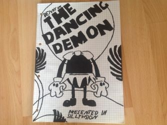 Bendy in: The Dancing Demon poster by Germanantasma