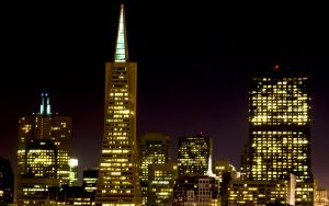 San Francisco Nightscape by d-elner