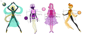Pearl Adopts! (Closed) by Funkatronic-adopts