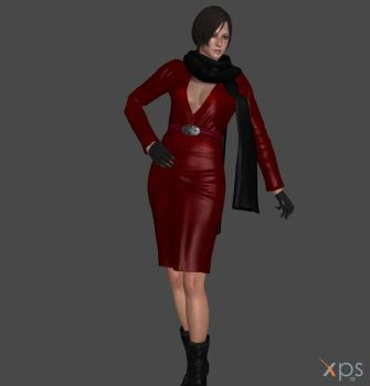 RE6 Carla Red Dress by IamRinoaHeartilly