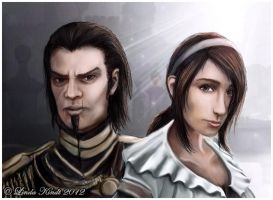 Brother And Sister by Isriana