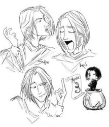 Snape Sketches-shiprat by snapefanclub