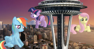 A Special Visit to Seattle by FlutterbatIsMagic