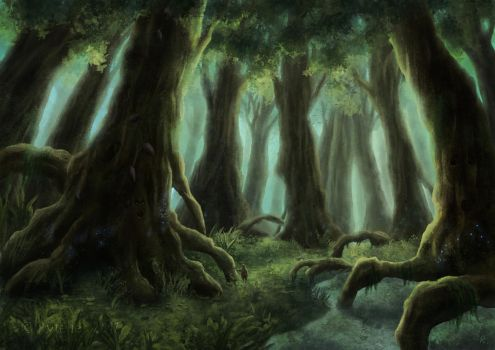Giant Forest by RytelierArt