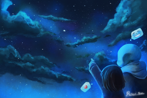 Stare at the Stars by Rowi-San