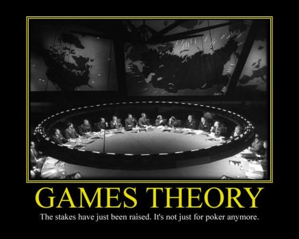 Games Theory Motivational Poster by DaVinci41