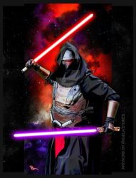 Darth Revan by lilnymph