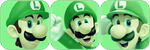 Luigi Green Divider by MissToxicSlime