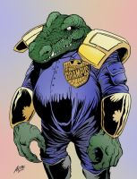 Judge Grampus by allistermac color by chaz by ChazWest