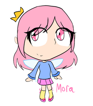 FOP-sona - Mora by SquickWeeb