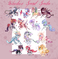 Valentine Sprout Sprite collection! OPEN by Forged-Artifacts