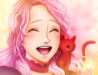 Black Clover Vanessa Enoteca Chapter 101-TCW by TheColoringWorld