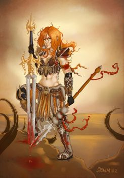 Barbarian by szienna