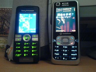 My cellphones by Genius-MasterminD