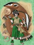 Toph by StubbornCupcake