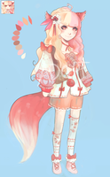 RE-AUCTION Pink Kemonomimi  AB 25$ [closed] by Suzu-Adopts