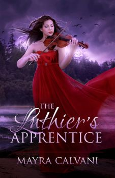 The Luthier's Apprentice - Book cover by TheDarkRayne