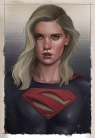 Supergirl by BrandonArseneault