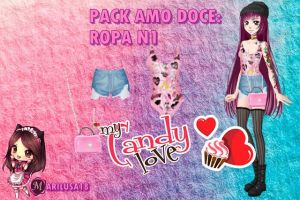 PACK ROPA AMOUR DULCE by Marylusa18