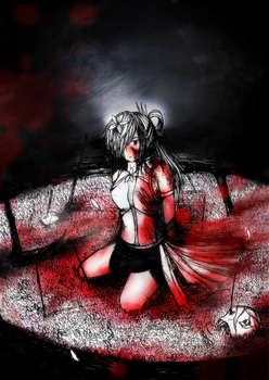 White Bathed in Red by RPG-No-Zero