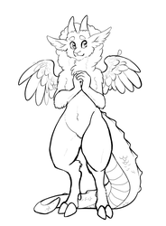 Gecko LineArt 2018 by BambooGecko