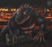 King Alcadrios by LycanthropeHeart