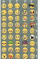 Expressions meme thing by Sat0rii
