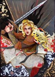 Eowyn Tarot Card by sassynails