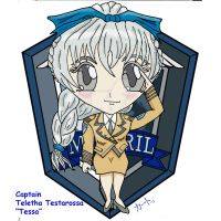 Chibi Tessa Staff Badge by Kato-Shiroi