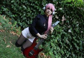 Super Sonico cosplay by Andivicosplay