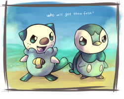 Piplup and Oshawott