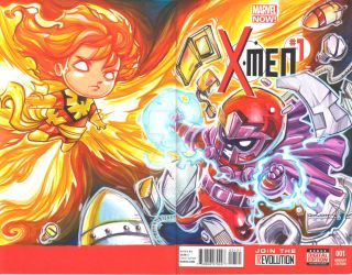 Magneto And Phoenix by Dve6