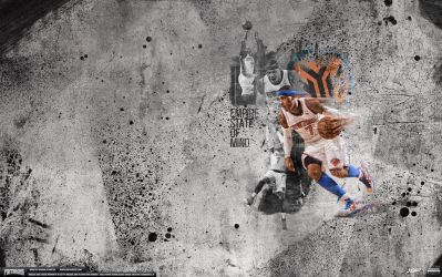 Carmelo Anthony Empire State Wallpaper by IshaanMishra