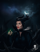Maleficent by jaquesmorgan