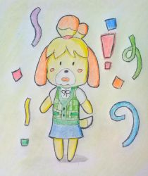 Isabelle (Animal Crossing) by ChosySan