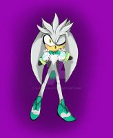 Silver The Hedgehog by clawsoncat