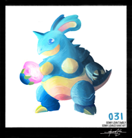 Nidoqueen! Pokemon One a Day!