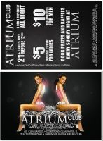 .Advert Flyers Atrium General by TheSpinxSage