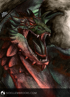 Smaug by NoelleMBrooks