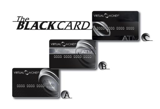 Black Card Mock up by emerygraphics