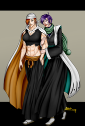 [C]- Tategami and Chiyoko by R-Blackout