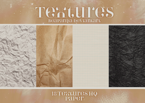 Textures 015 // Paper by BEAPANDA