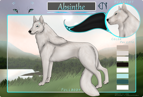 Absinthe :: Healer :: Female by SilverGenko
