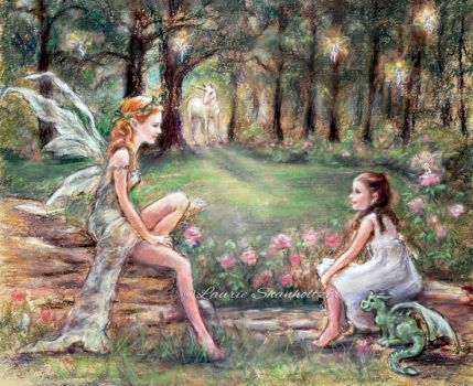 Fantasy Found, artist Laurie Shanholtzer by laurieshan