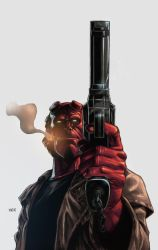 Hellboy By Grandizer05-d9fy2rp by NesTHORcolors