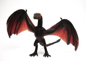 Drogon, poseable art doll by FellKunst