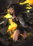 Wonder Woman by yinyuming