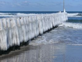 the cold baltic sea by HyenaBuddy