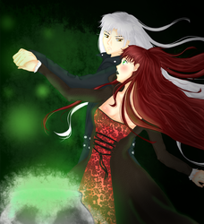 Sesshomaru and Rin - Witch by hooliedanisars